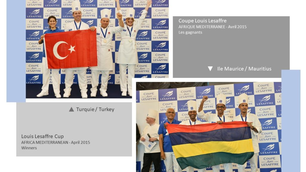 Gagnants Winners Coupe Louis Lesaffre Africa 2015