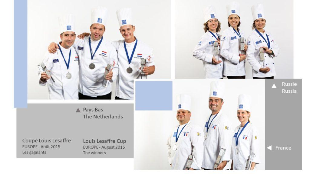 Gagnants Winners Coupe Louis Lesaffre Europa 2015